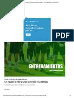 3x3. CAMBIO DE ORIENTACIÓN Y PRESIÓN TRAS PÉRDIDA _ El blog de Samy