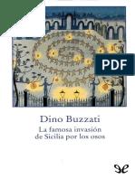 Buzzati, Dino - La famosa invasion de Sicilia por los osos [24828] (r1.0)