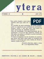 Revista Itaytera 1974 Vasconcellos