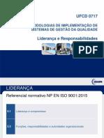 UFCD0717 - Parte 3 Liderança e Responsabilidades