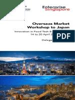 Overseas Market Workshop to Japan_Delegation Booklet