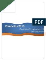 Vivencias Cuadernillo de apoyo II Lectoescritura