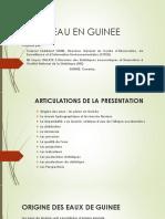 Session 7b_Guinée_L'Eau en Guinée