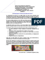 ACTIVIDAD ESPECIAL SEMANA DE LA EDUCACION INICIAL I GRUPO B Docente Alejandra go