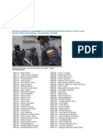 La Unión Interparlamentaria denuncia ataques del régimen de Maduro contra diputados de la legítima AN (Comunicado)
