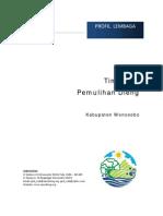 Profil lembaga Tim Kerja Pemulihan Dieng-TKPD