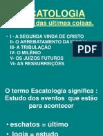 1 a ESCATOLOGIA MILENIO