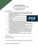 CUESTIONARIO 4 2° SEMANA