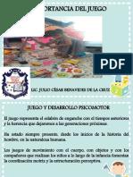 IMPORTANCIA DEL JUEGO-CIDECA