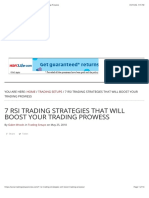 7 RSI Trading Strategies That Will Boost Your Trading Prowess