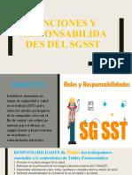 PP. FUNCIONES Y RESPONSABILIDADES DEL SGSST