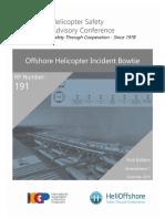 HSAC RP Nbr 191 - Offshore Helideck Incident Bowtie - 1st Edition - Amendment 1