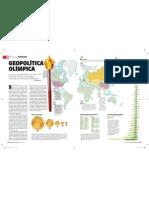 Atualidades - Geopolítica Olímpica pags 56 57