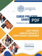 CURSO PRE ICFES UNIVERSIDAD JAVERIANA GUIA TEMATICA CIENCIAS SOCIALES FINAL