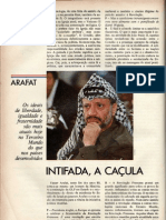 Intifada, a caçula - entrevista com Yasser Arafat