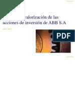 ABB INFORME DE VALORIZACION ABB Y ANEXOS