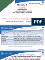 ELEM 1 - Agosto CIDUP 2020  aulas T & Q(11).ppt