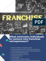 Understanding of Franchise