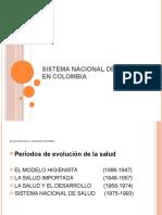 Sistema Nacional de Salud Historia Colombia