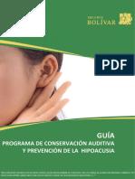 Guia conservación auditiva
