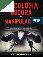 PSICOLOGÍA OSCURA Y MANIPULACIÓN