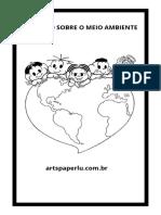 Caderno sobre o Meio Ambiente