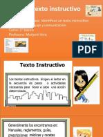 PPT texto instructivo 2 básico