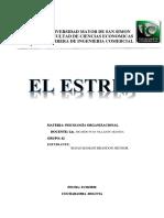 EL ESTRES  (PSICOLOGIA ORG, ING COM) ) ROJAS MAMANI BRANDON JHUNIOR