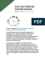 UNA NUEVA CULTURA DE PARTICIPACIÓN SOCIAL