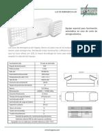 FC Luz de Emergencia LED 12h. HAGROY PDF