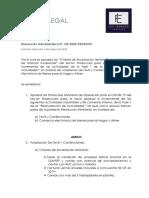 Boletín RM 138-PRODUCE
