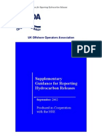 01 Supplementary Guidance for Reporting Hydrocarbon Releases