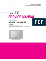 LG LCD TV - 32LX-2R