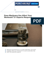 Does Marijuana Use Affect Your Workouts_ 21 Experts Respond