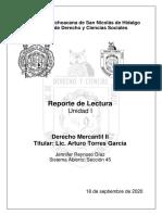 D. Mercantil II. Tarea 1. Reynoso Díaz Jennifer