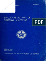 DMSO Biological Actions of Dimethyl Sulfoxide DMSO - New York Academy of Sciences by Chauncey Depew Leake Stanley W Jacob MD (Z-lib.org)