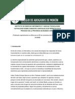 """ACTUALIDAD SOBRE SUBASTAS JUDICIALES ELECTRÓNICAS EN EL PROCESO DE LA PROVINCIA DE BUENOS AIRES"""" por Rocío Belén García."""