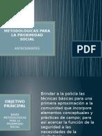 Bases metodológicas para la Proximidad social