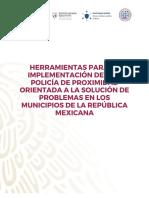 Herramientas para la implementación de una policía de proximidad orientada a la solución de problemas en los municipios de la republica mexicana