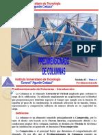 Calculo Estructural - Modulo II - Tema 4 - Predimensionado de Columnas