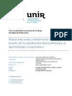 Hacia una sana convivencia escolar a través de la mediación intercultural y el aprendizaje cooperativo [4502]