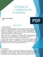 sistemas de gestión ambiental en la empresa