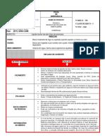 Ficha de emergência de Dimetilaminado