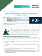 FICHA DE AUTOAPRENDIZAJE MATEMÁTICA -SESION EVALUACIÓN CUARTO GRADO.pdf