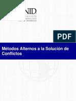 7. UNID_Medios Alternos a la solución de Conflictos