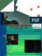 Aula 03 - Ciências (slides da aula) Evolução Estelar