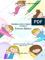 PRIORIZACIÓN CURRICULAR 3 BASICO