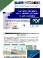 Robotic Plant Root_ BAEC08_170308_FinalMazzolai