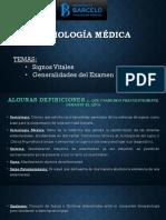 Semiología Médica - Signos vitales & Examen fisico