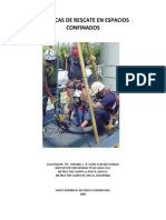Manual de rescate en Espacios Confinados